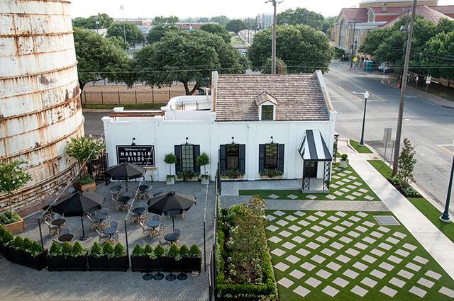 Magnolia at the Silos Restaurant Waco Texas